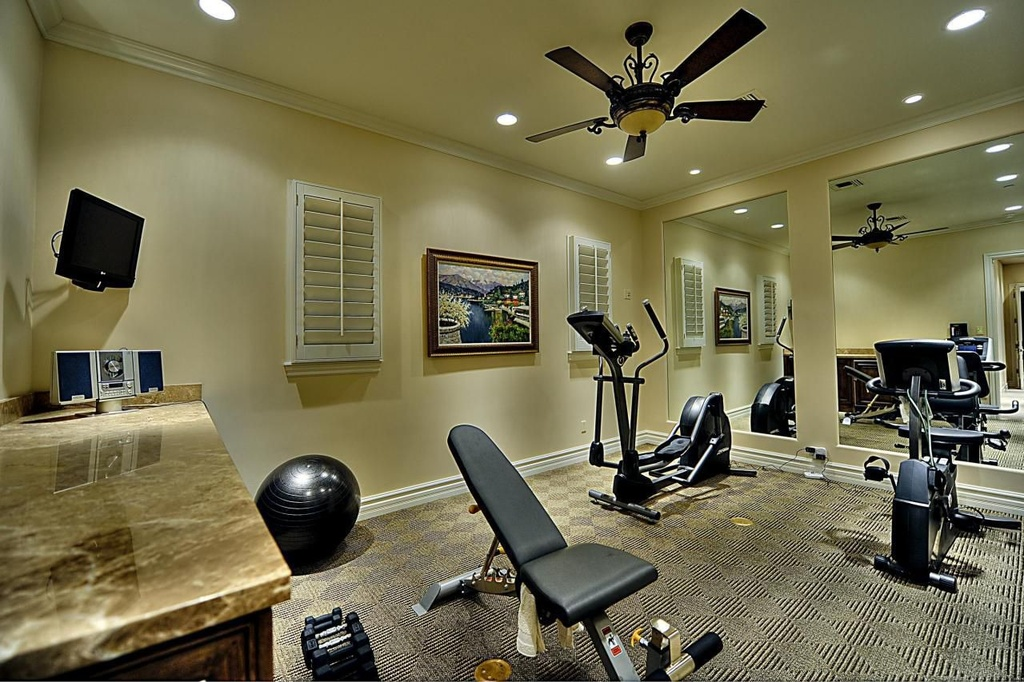 Best ideas for a perfect home gym for Best home gym design ideas